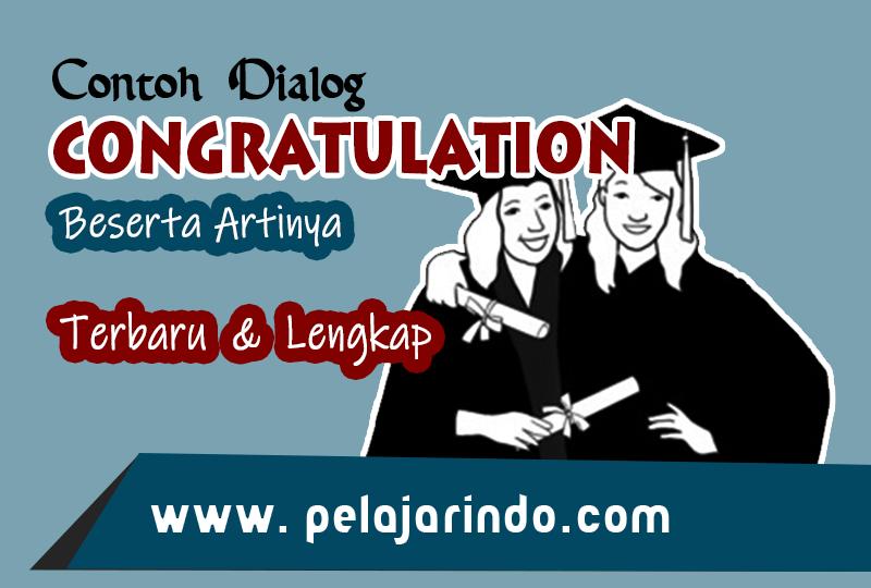 Dialog Congratulation
