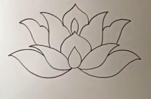 Cara Menggambar Dan Mewarnai Ornamen Bunga Super Indah