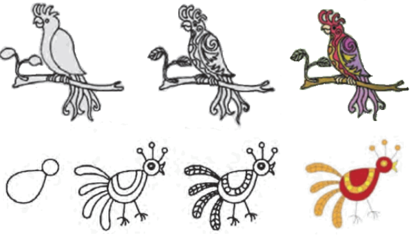 101 Gambar Stilasi Flora Fauna Hd Gambar Pixabay